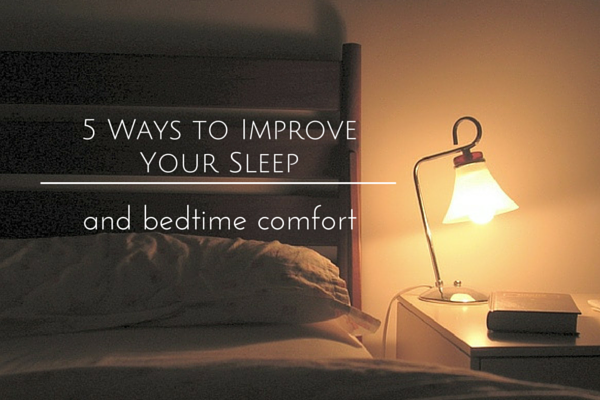 5 Ways to Improve Your Sleep
