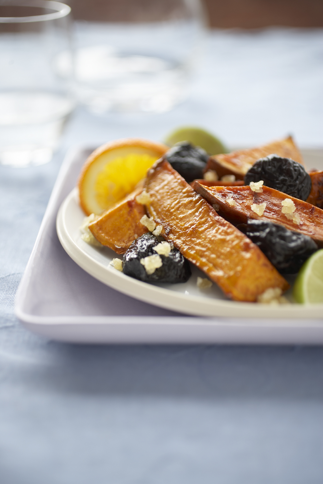 Sweet Potatoes with California Prunes & Ginger