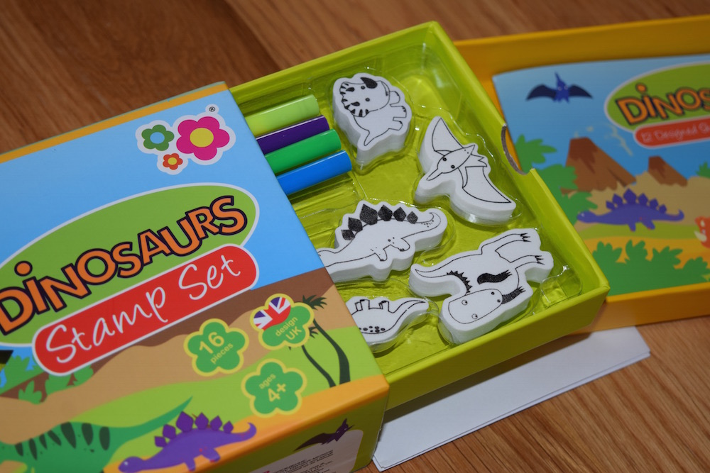 Dinosaur Stamper Set from MeadowKids | Toy Review