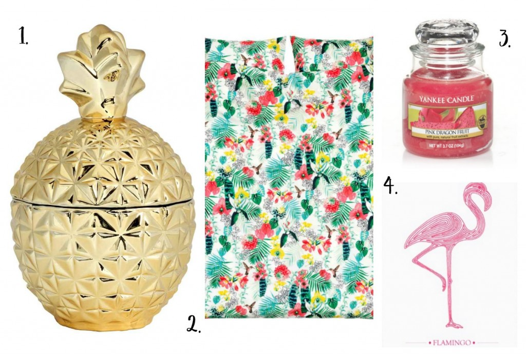 Tropical Home Decor & Accessory Inspiration