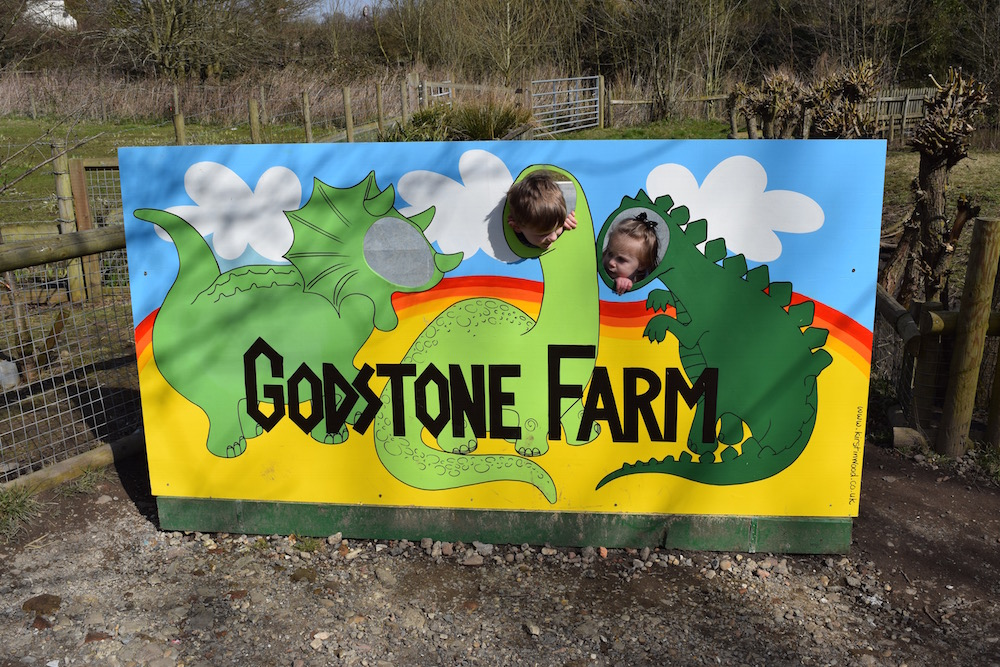 Spending the Day at Godstone Farm