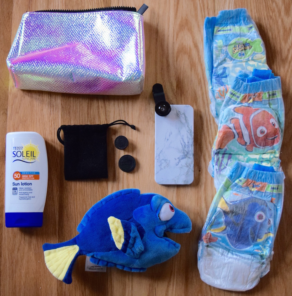 I'm a HUGGIES® Little Swimmers® Ambassador | What's in My Changing Bag?