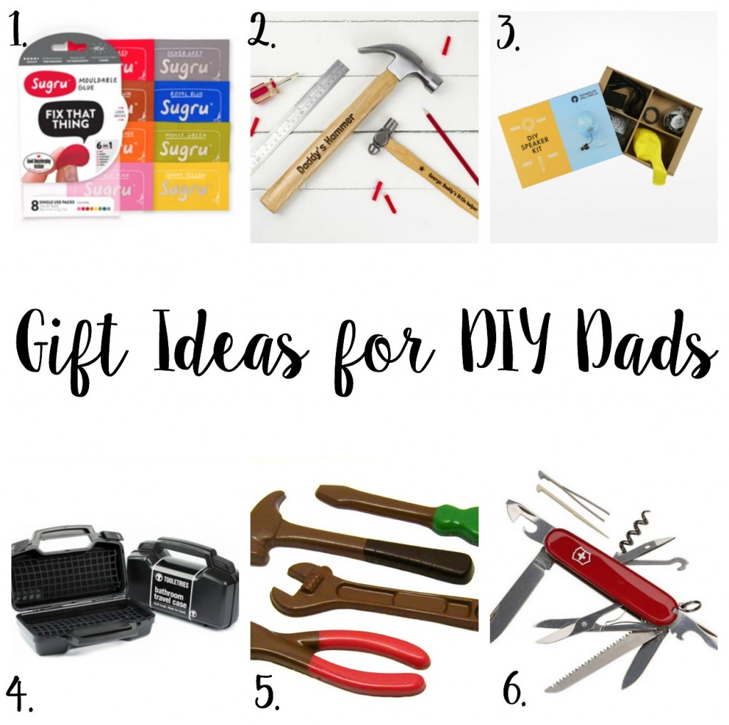 Father's Day Gift Inspiration for the DIY Dad