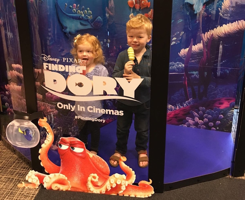 Finding Dory Exclusive Screening Event | Guest Post by Gemma at Pushchairs and Busfares