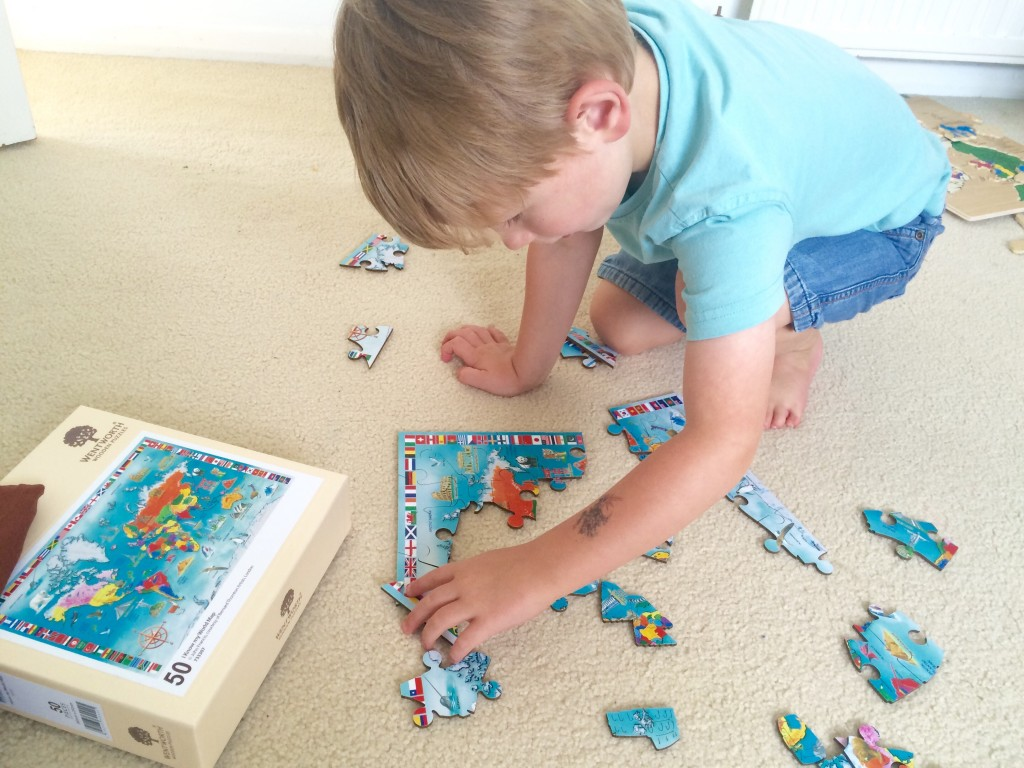 Educating Preschoolers: Why Puzzles Are So Important