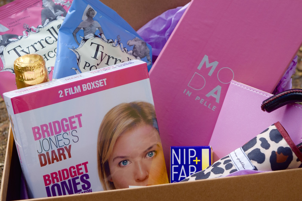 Win a Bridget Jones Pamper Night Hamper with Moda in Pelle