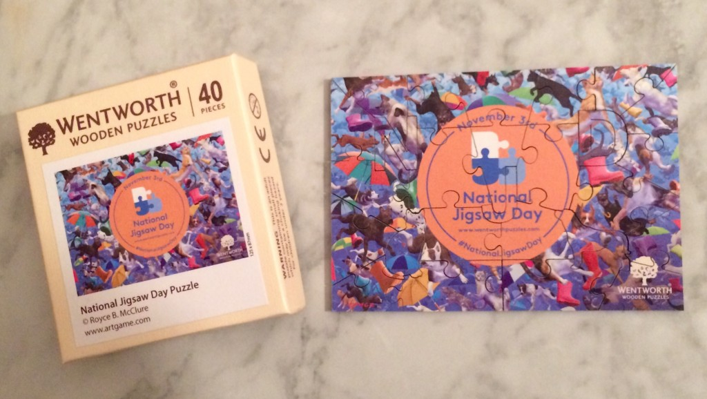 Celebrate National Jigsaw Day by Winning a Puzzle From Wentworth Wooden Puzzles