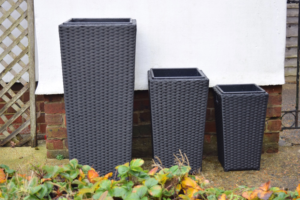 Caring For Your Garden in Winter and Rattan Direct Garden Plant Pots Review