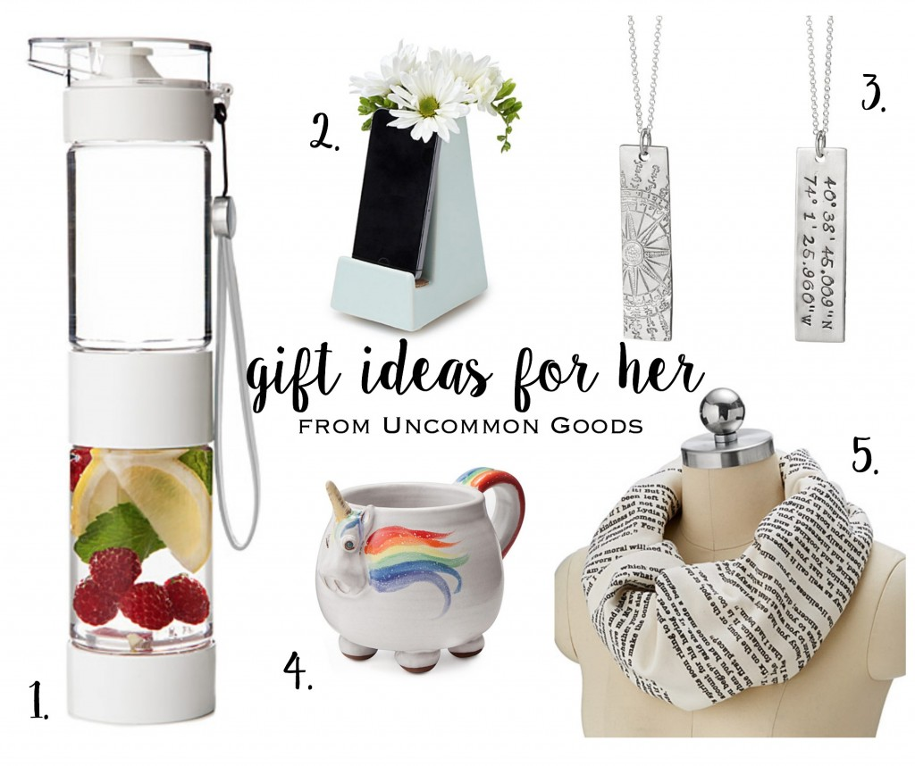 Christmas Gift Ideas for Her From Uncommon Goods