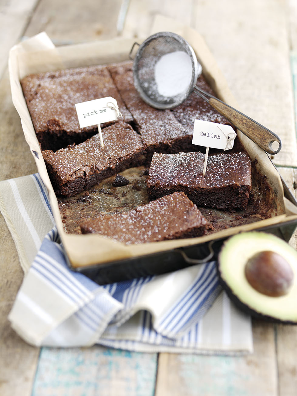 Chocolatey Avocado Brownies
