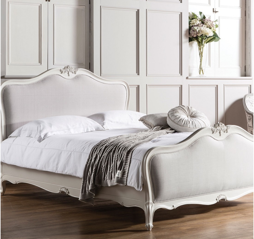 Design a Romantic, French Bedroom This Spring