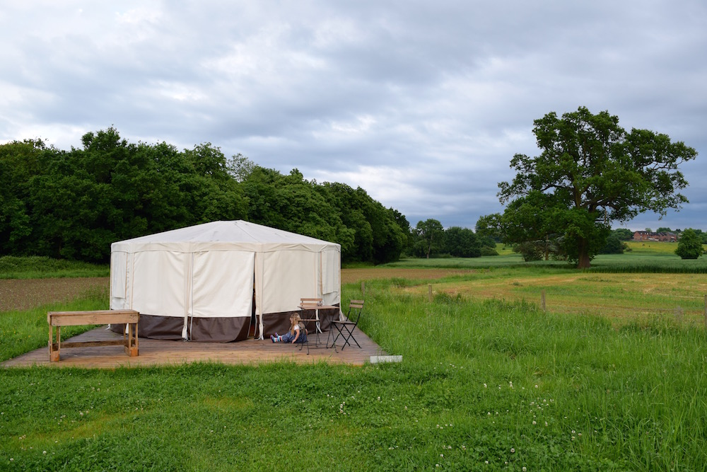 Time Out in the Countryside: Home Farm Glamping Review
