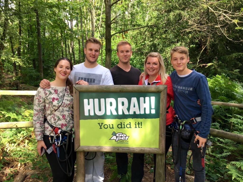 Birthday Celebrations at GoApe | Review