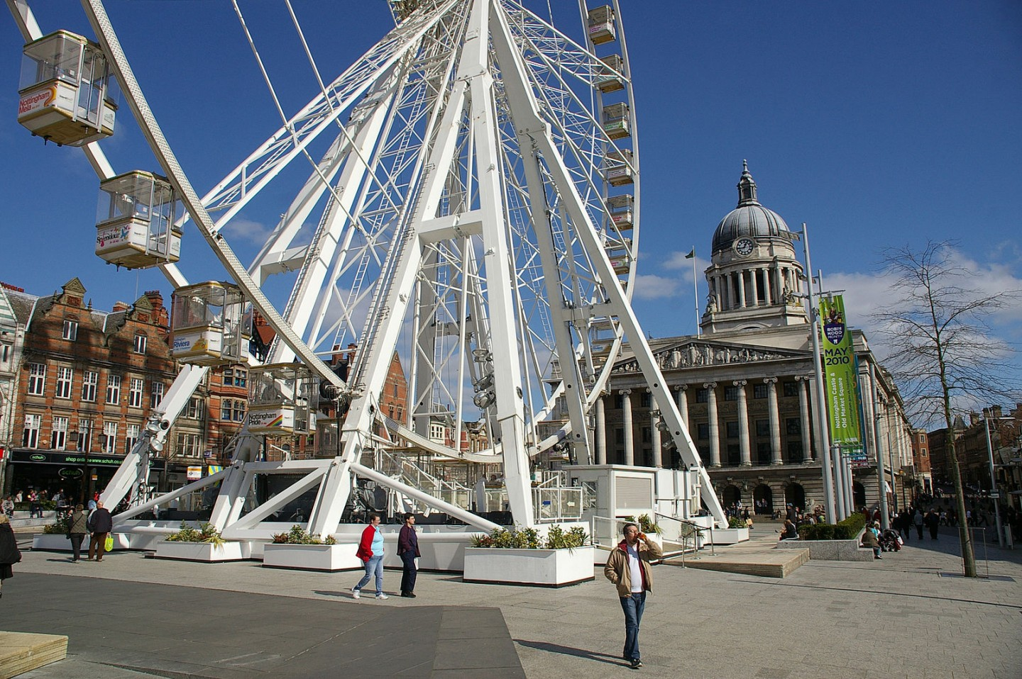 Nottingham is touted to be one of the best cities in the UK