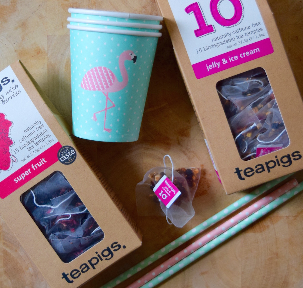 Fruity Iced Tea Recipe with teapigs.