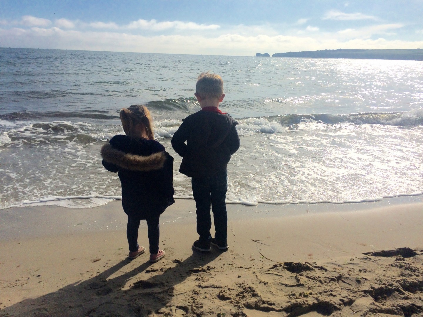 Spending the Day at Studland Bay & Trespass Adella Fleece Review