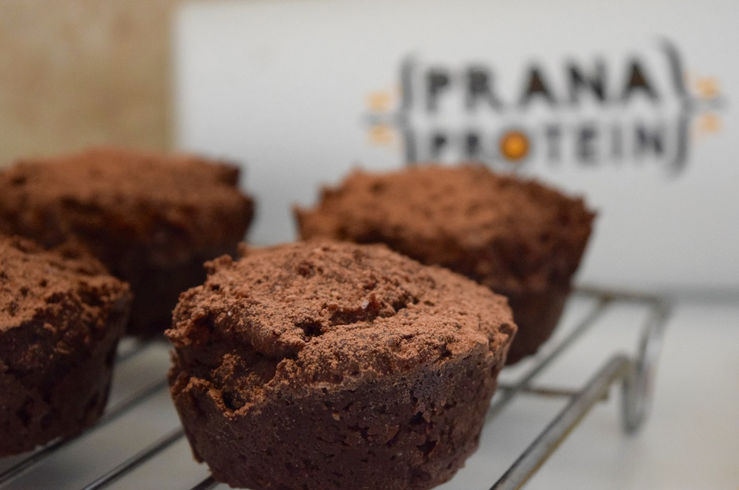 Chocolate Protein Muffin Recipe with Prana Protein