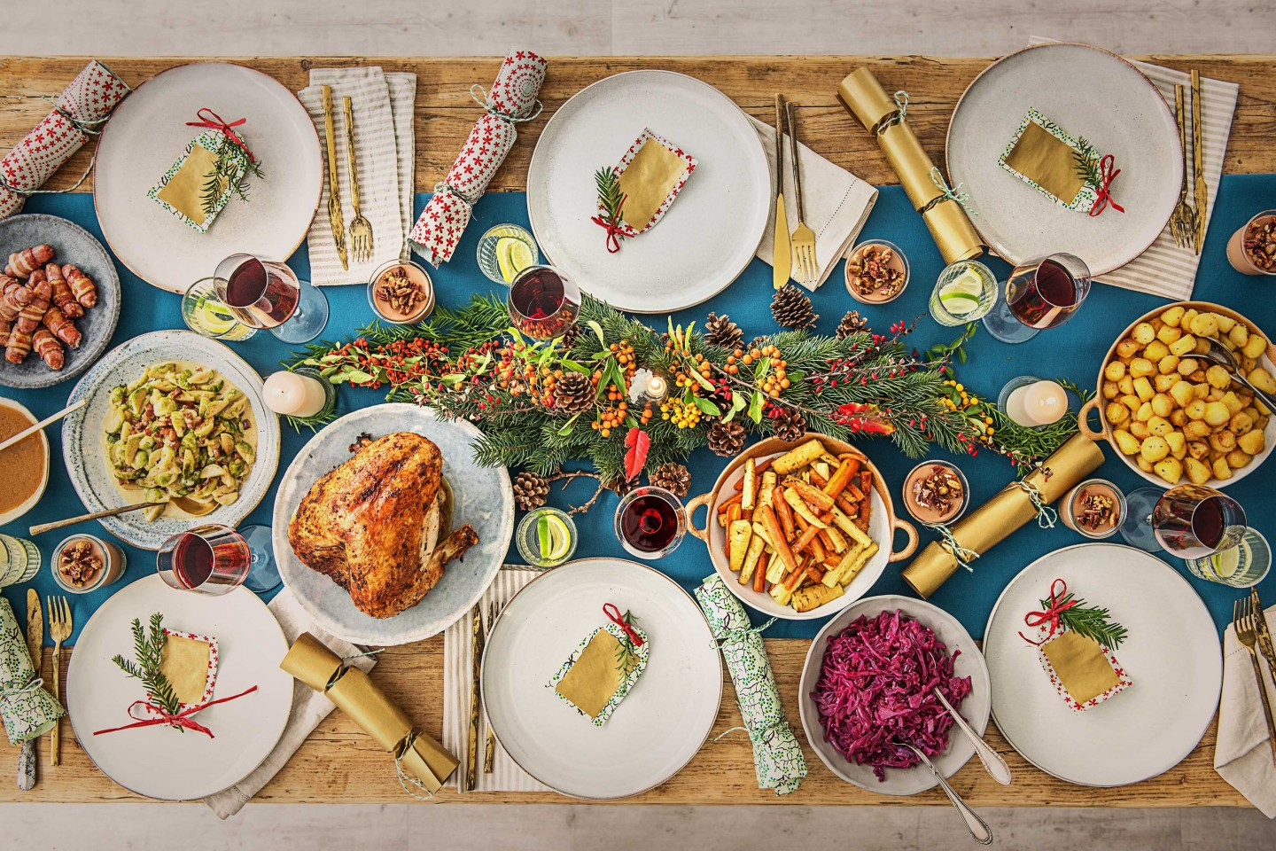 Christmas Dinner is All About Timing | Cheat Sheet from HelloFresh