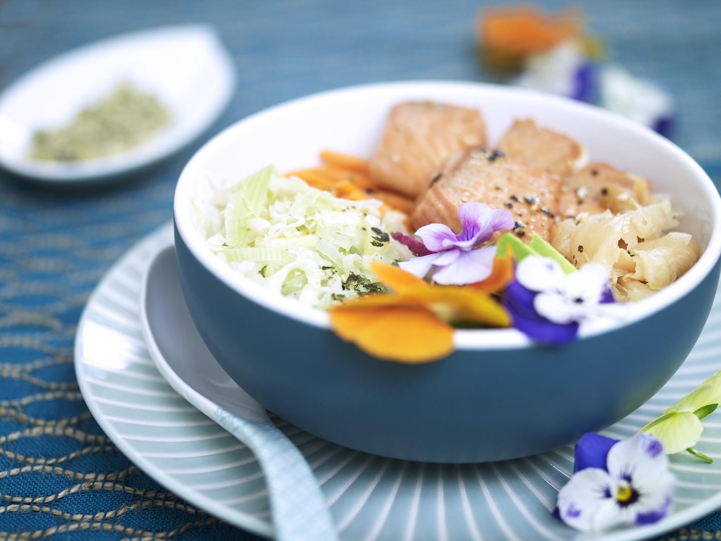 Leek Poké Bowl Recipe