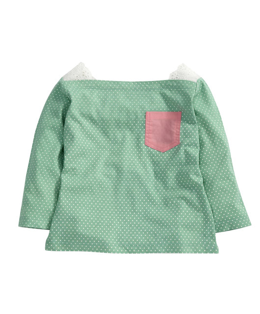 Girls Green Spot T-shirt_ _16 - Mamas _amp_ Papas