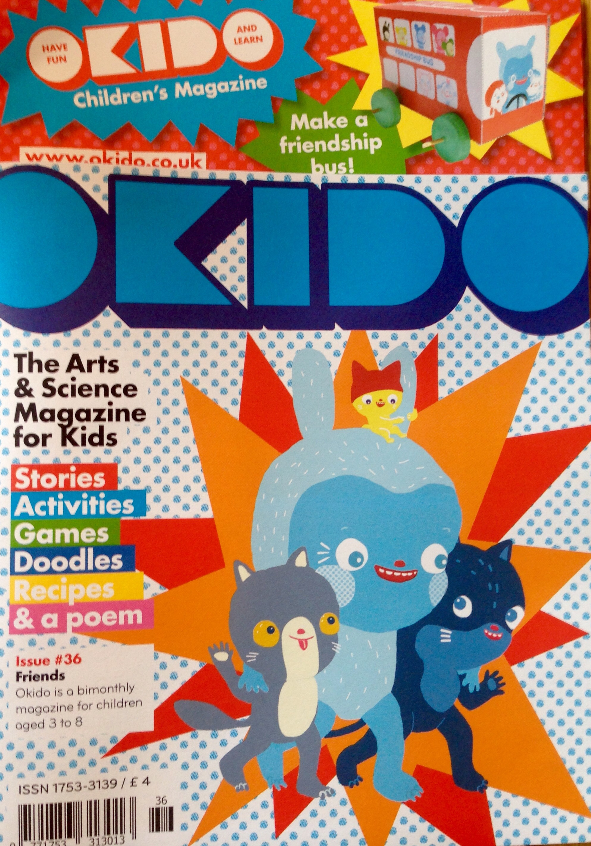 All about OKIDO Children's Magazine – AAUBlog