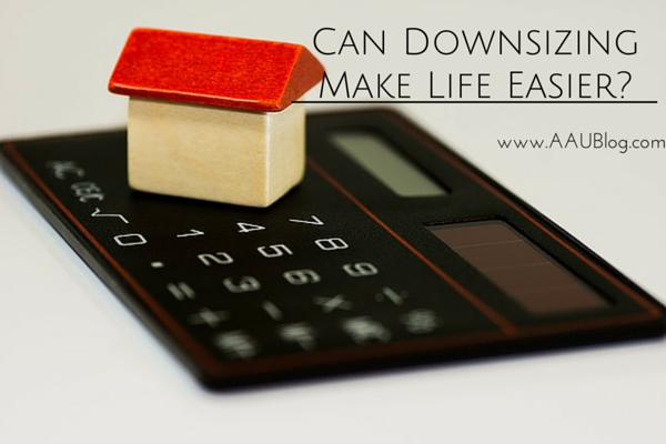 Can Downsizing Make Life Easier-