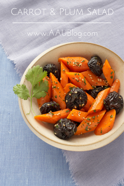 Moroccan Carrot & California Prune Salad