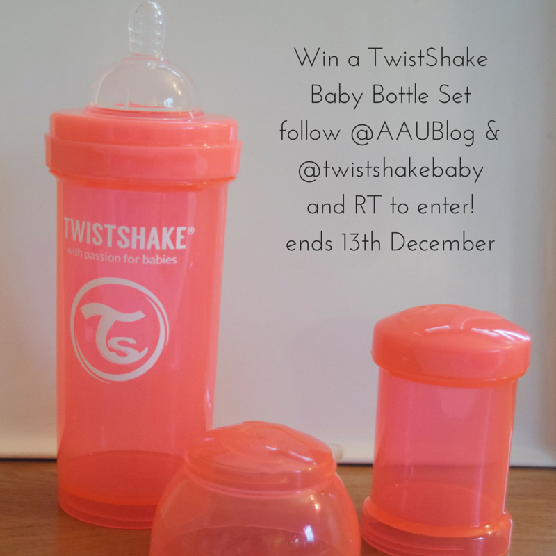 Win a TwistShake Baby Bottle Setfollow @AAUBlog & @twistshakebaby and RT to enter!ends 13th December