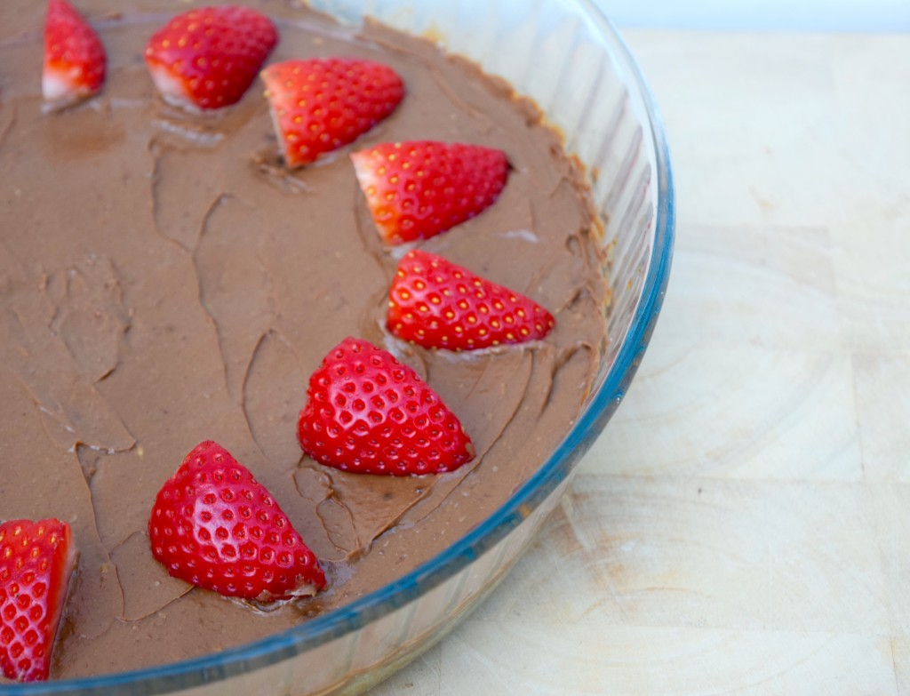 Vegan Chocolate Orange Mousse Cake