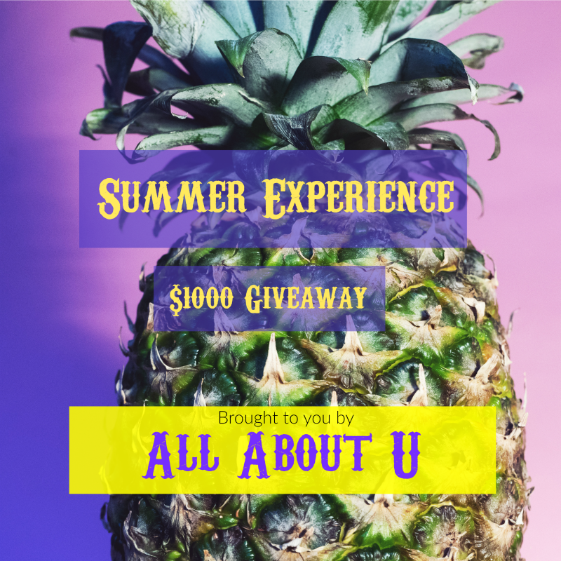 Strawberry & Coconut Mocktail Recipe and The Summer Experience $1000 Giveaway!