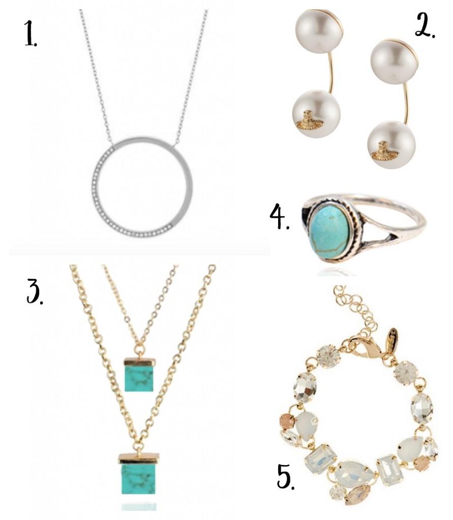Summer Jewellery Wishlist