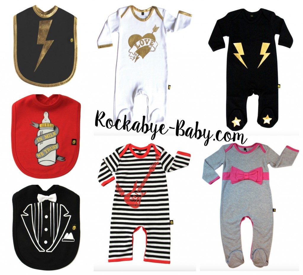 Win a Baby Sleepsuit and Two Bibs From Rockabye-Baby