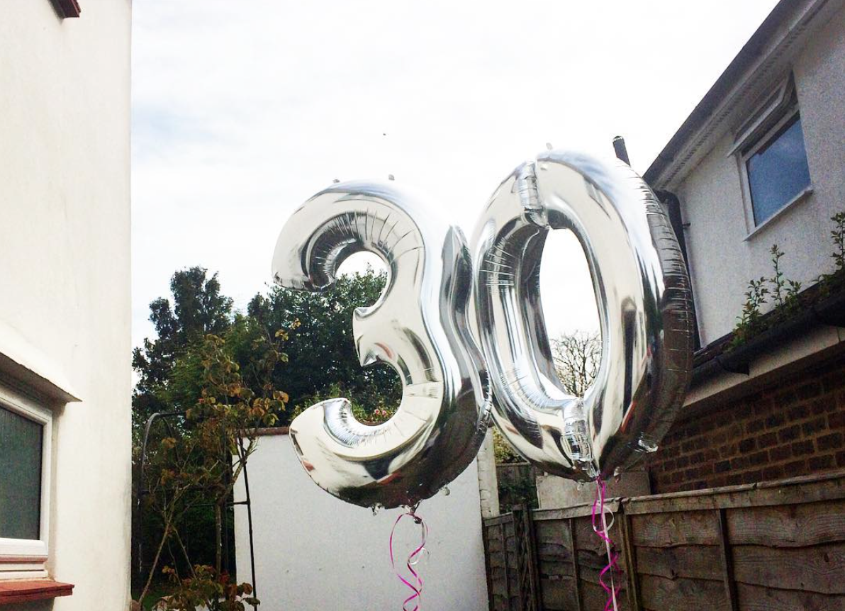 Turning Thirty and Celebrating at TWID