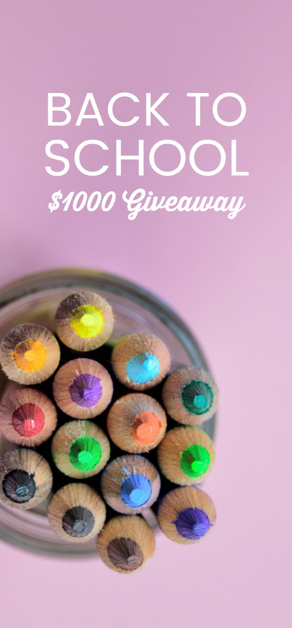 Back To School Giveaway Image