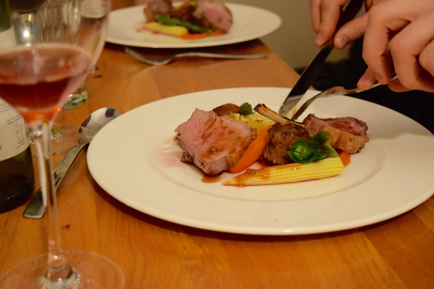 Our Evening With a Private Chef From La Belle Assiette