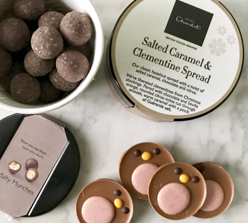 Stocking Filler Ideas From Hotel Chocolat & Bags of Love Review