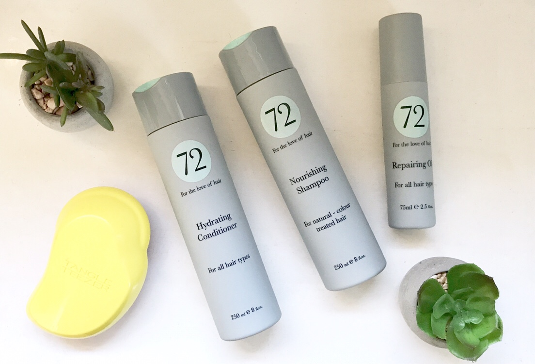 72 Hair Daily Nourishing Collection Review