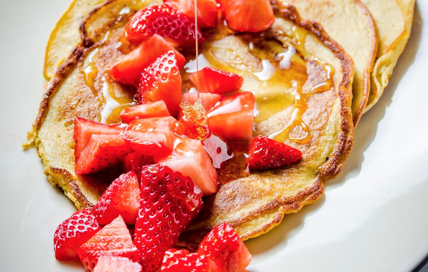 Plantain Pancakes For Pancake Day