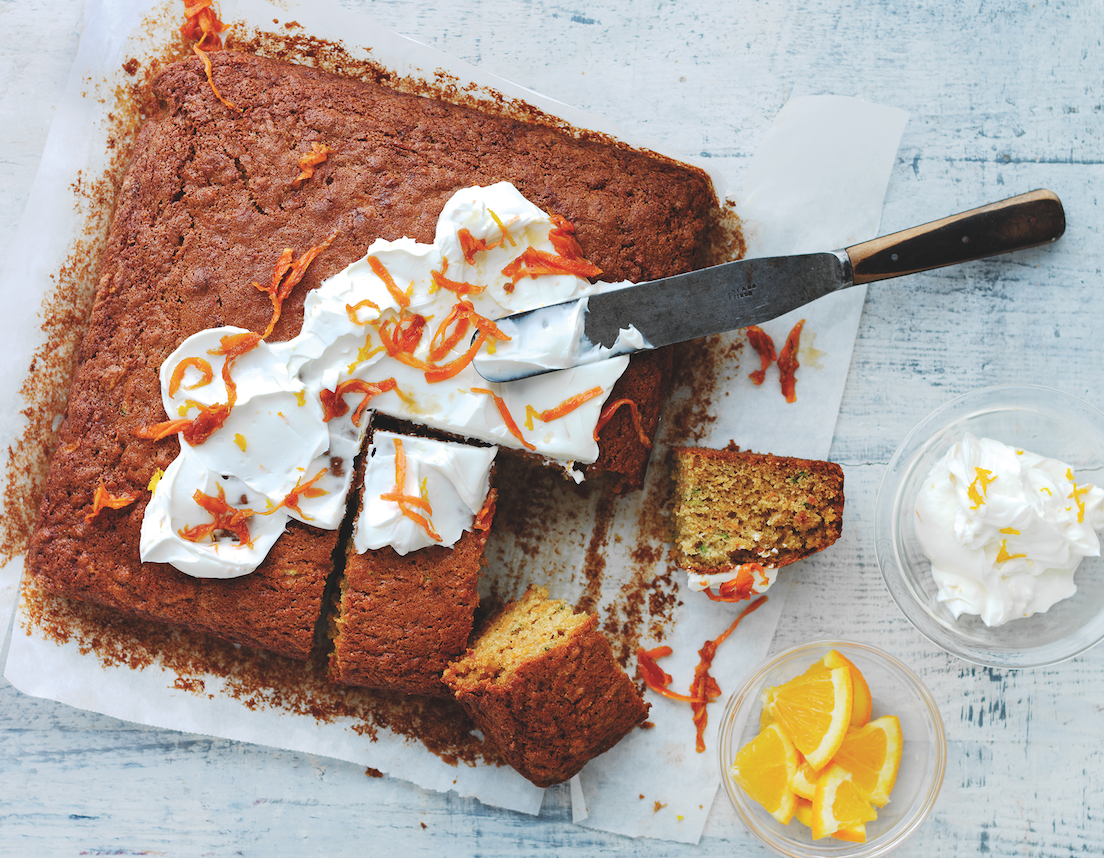 Squidgy Carrot and Courgette Cake