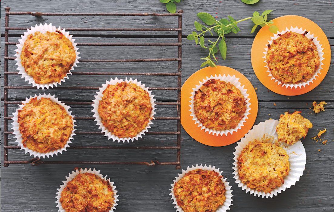 Oaty Carrot Breakfast Muffin Recipe (and a Giveaway)!
