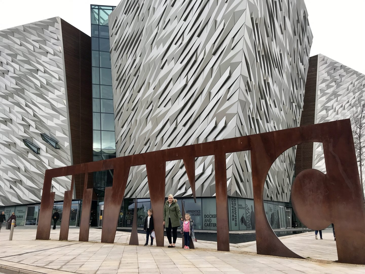 Our Day at the Titanic Experience & SS Nomadic in Belfast