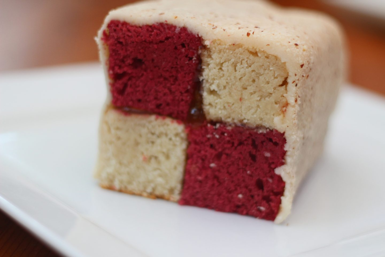 Vegan Battenberg Cake