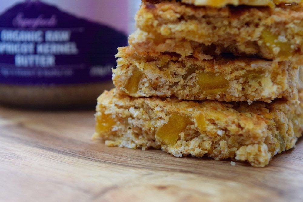 Veganuary with Indigo Herbs | Apricot & Mango Flapjack