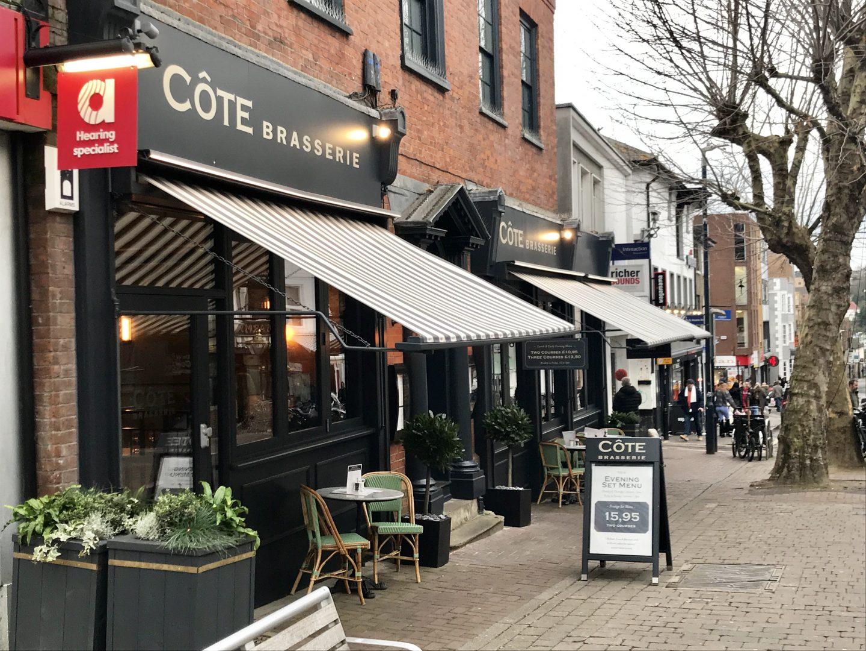 Côte Brasserie Maidstone   Review